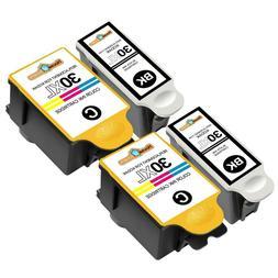 4 Pack 30XL Ink Cartridges for Kodak ESP C110 ESP Office 217