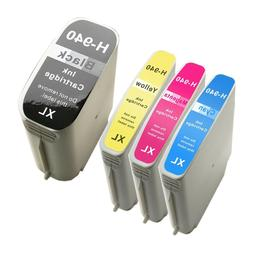 4 PACK 940 940XL New ink cartridges for HP Officejet 8000 85