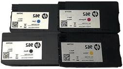4 Pack 962 Ink Cartridges GENUINE OfficeJet Pro 9010 9015 90