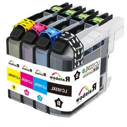 4 Pack LC103XL Ink Set Replace for Brother MFC-J285DW MFC-J6