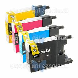 4 PACK LC71 LC75 Compatible Ink Cartirdge for BROTHER Printe