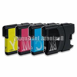 4 Pack NEW LC61 Ink Cartridges for brother printer LC61BK LC