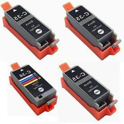 4 pk comp PGI-35 CLI-36 Printer Ink Cartridge for Canon
