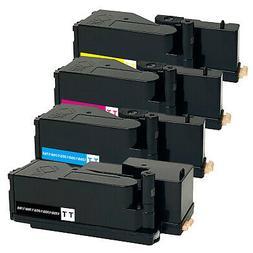 4 x Toner Cartridge for Dell 1250c 1350cnw 1355cn 1355w C176