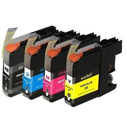 4 Pk LC103 XL LC-103 Ink For Brother MFC-J4310dw MFC-J4410dw