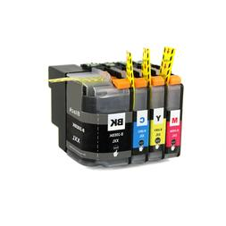 4 Pk LC20E XXL Black & Color Ink for Brother MFC-J5920DW MFC