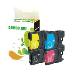 4 pk LC61 ink set for Brother MFC-490CW MFC-6490CW MFC-J615W
