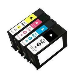 4-Pk/Pack 100XL Ink Cartridge For Lexmark Pinnacle Pro901/90