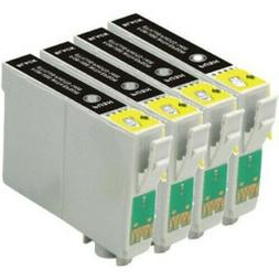4 x Black Ink Cartridges Non-OEM Alternative For Epson 603XL