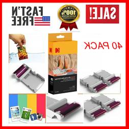 40 PACK  KODAK ALL-IN-ONE CARTRIDGE PAPER Mini 2 Photo Print