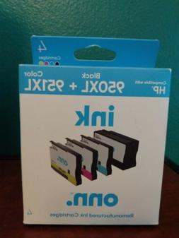 4pck HP Compatible BLK /Color 950XL+951XL Ink Cartridges