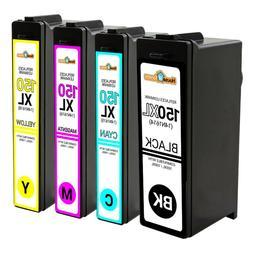 4pK 150XL 150 Black & Color Ink Cartridge for Lexmark S515 S