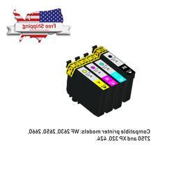 4pk Compatible Ink Cartridges for Epson WorkForce WF-2750WF-