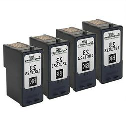 4PK For Lexmark 18C1523  Black Ink Cartridge X4550 X3550 Z14