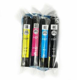 4pk Genuine Epson 702i Black & Color Ink Cartridge initial W