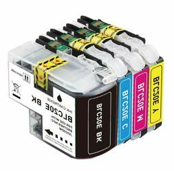 4Pk LC-20E LC20E XXL Ink Cartridge For Brother MFC-J5920DW M