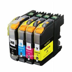 4pk LC203 LC-203XL Ink Set For Brother LC201 MFC-J460DW MFC-