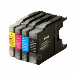 4pk LC75 LC-75 Ink Set for Brother LC71 MFC-J280W MFC-J425W