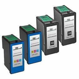 4pk Lexmark 36XL 37XL HY Ink Cartridge Black & Color Set Z24