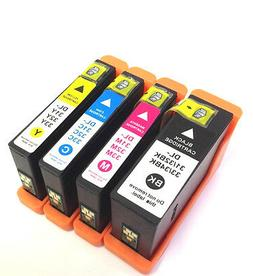 4Pk New Chip Series 31 32 33 34 Ink Cartridges For Dell 33 3