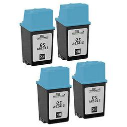 4PK Remanufactured Replacement Ink Cartridge for HP 51629A