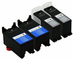 4Pk Series 21/22/23/24 Color Ink Cartridge For Dell V313 V51