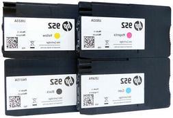 4pk Set HP 952 Ink Cartridges NEW GENUINE Officejet 8710 821