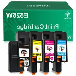 4PK Set E525W Toner for Dell E525 Ink Cartridges E525WBK E52