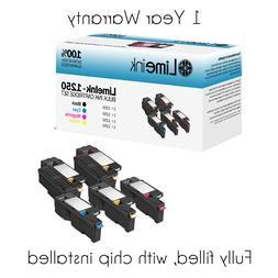 5 1250 Toner Cartridge Black Color Set For Dell Laser C1760n