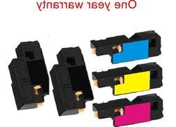 5 black&color print ink toner Cartridge for Dell C1765NF C17