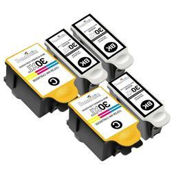 5 Pack For Kodak 30XL Black & Color Ink Cartridges For ESP O