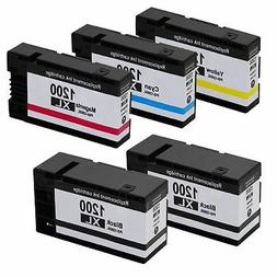 5-Pk/Pack PGI-1200XL 1200XL Ink For Canon MAXIFY MB2020 MB21
