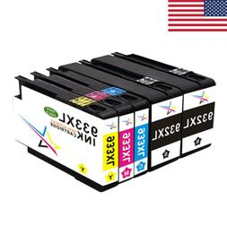 5 Premium 932 XL 933 XL Ink Cartridge Combo for HP OfficeJet