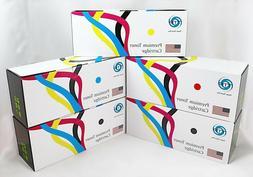 5PK Canon Compatible 054 Standard Capacity B,C,Y,M Color Set