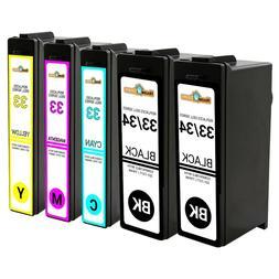 5PK For Dell Series 31 32 33 34 Ink Cartridges for V525W V72