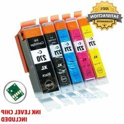 5pk PGI270xl CLI271XL Ink Cartridge For Canon Pixma MG6820 M