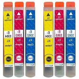 6 C/M/Y Ink Cartridges XL for Epson Expression Premium XP-53