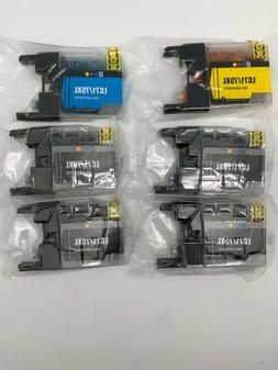 6 E-Z Ink Compatible Ink Cartridge Replacement for Brother L