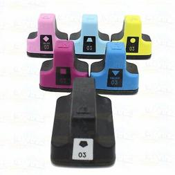 6 pack HP 02 High-Yield Ink Cartridges With Chip for PhotoSm