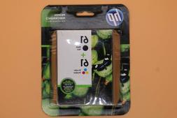 HP 61 COMBO GENUINE RETAIL BOX Ink Cartridge -  EXPIRED