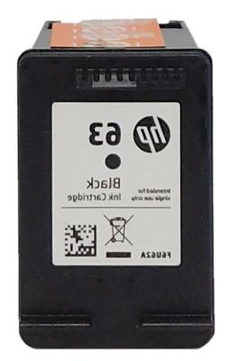 HP #63 Black Ink Cartridge F6U62AN GENUINE