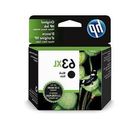 HP 63XL Black Original  High Yield  Ink Cartridge F6U64AA 48