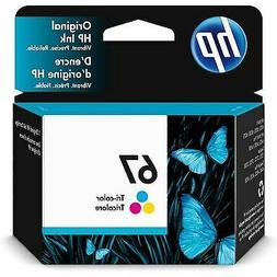 67 tri color original ink cartridge