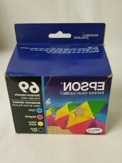 Epson 69 Standard Capacity Ink Cartridge CMYB Pack of 4 T069