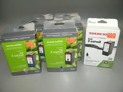 7 OFFICE DEPOT DELL SERIES 5 INK CARTRIDGES 4-BLACK 3-COLOR