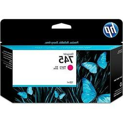 HP 745 | DesignJet Ink Cartridge | Magenta | 130-ml | F9J95A