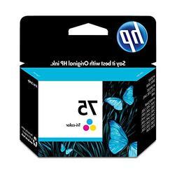HP CB337WN 75 Ink Cartridge, Tri-color