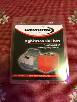 Innovera 793-5 Pitney Bowes Postage Meter Ink Cartridge Red