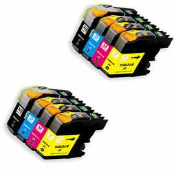 8 New Ink Cartridges with chip for Brother LC203 MFC J680DW