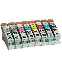 8 PK Premium Ink Cartridges for Canon CLI-42 Pixma Pro-100 P